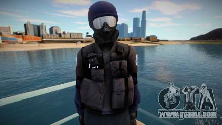 Improved swat for GTA San Andreas