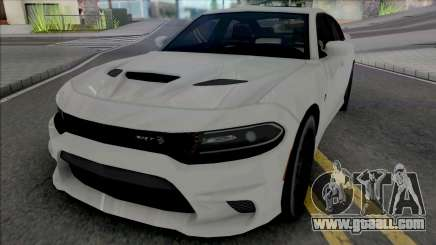 Dodge Charger 2018 Lowpoly for GTA San Andreas