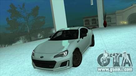 Subaru BRZ tS Coupe for GTA San Andreas