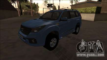 2015 Great Wall Haval H9 for GTA San Andreas