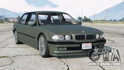 Alpina B12 6.0 Lang (E38) 2001〡add-on for GTA 5