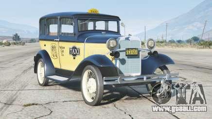 Ford Model A Town Sedan 1931〡Taxi〡add-on v0.3 for GTA 5