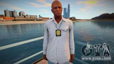 Policeman in plainclothes for GTA San Andreas