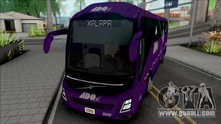 Volvo 9800 de ADO GL (Morado) for GTA San Andreas