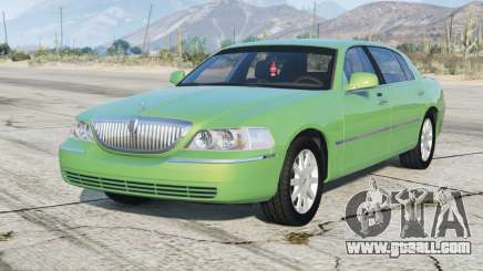 Lincoln Town Car Signature Limited 2010 v1.1 for GTA 5
