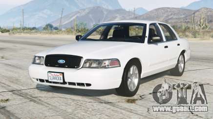 Ford Crown Victoria 2011〡add-on for GTA 5