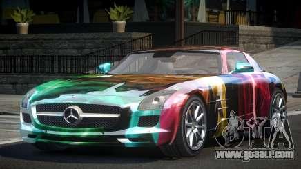 Mercedes-Benz SLS GS-U S4 for GTA 4