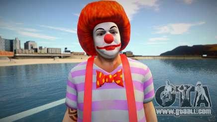 Clown wmoice for GTA San Andreas