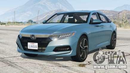 Honda Accord Sport 2.0T (CV2) 2018〡add-on for GTA 5
