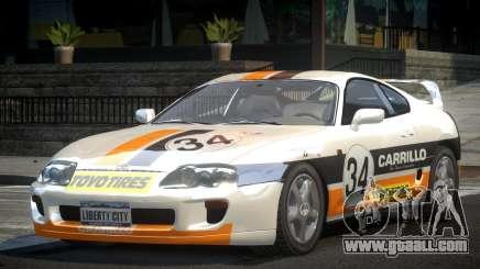 Toyota Supra GST Drift S4 for GTA 4