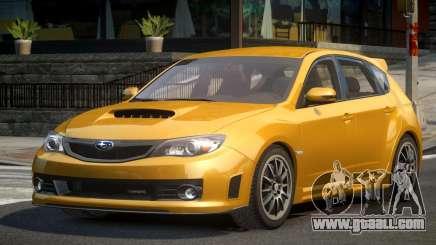 Subaru Impreza BS-U for GTA 4