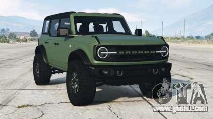 Ford Bronco 4-door Wildtrack 2021 for GTA 5