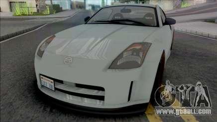 Nissan 350Z [IVF VehFuncs ADB] for GTA San Andreas
