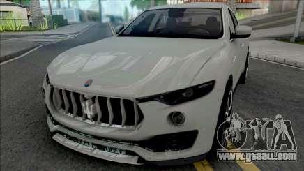 Maserati Levante [Fixed] for GTA San Andreas