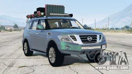 Nissan Patrol (Y62) 2014〡off-road〡add-on for GTA 5