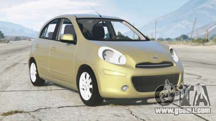 Nissan March (K13) 2011 for GTA 5