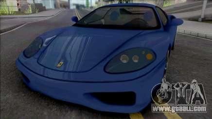 Ferrari 360 Modena [IVF] for GTA San Andreas