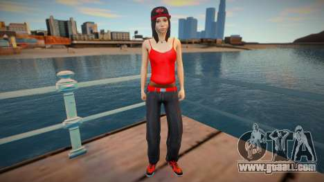 New nurgrl3 red version for GTA San Andreas