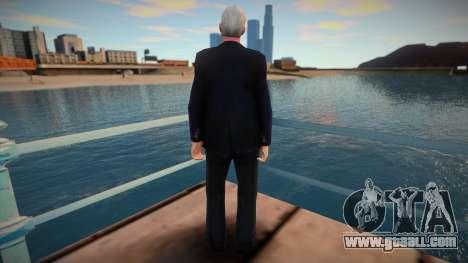 Nestor Kirchner for GTA San Andreas