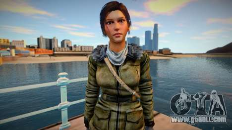 Lara Croft 2015 for GTA San Andreas
