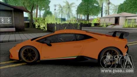 Lamborghini Huracan Performante (SA Lights) for GTA San Andreas