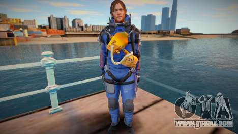 Sam blue suit [Norman Reedus] (from Death Strand for GTA San Andreas