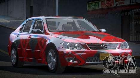 Lexus IS300 U-Style S8 for GTA 4