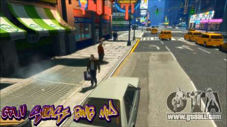 GTA IV Suitcase Bomb Mod for GTA 4
