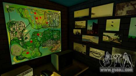 UFO Bar Textures Overhaul 2.0 for GTA San Andreas
