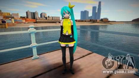 PDFT Hatsune Miku Vocal for GTA San Andreas