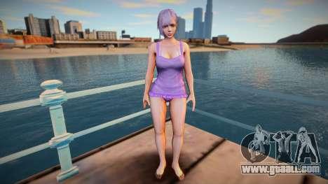 Fiona Noble Caviar for GTA San Andreas
