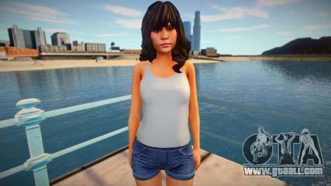 Jane from Home Sweet Home for GTA San Andreas