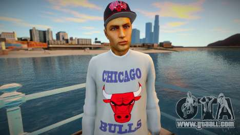 Dude Chicago Bulls style for GTA San Andreas