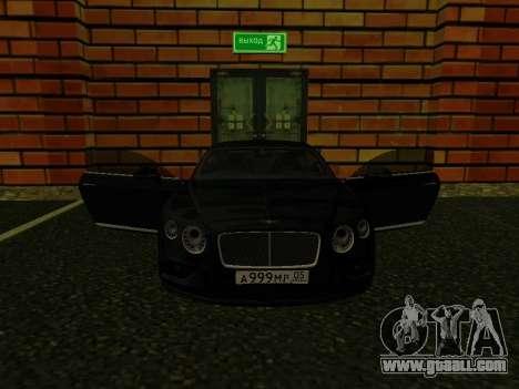 Bentley Continental GT RUS Plates for GTA San Andreas