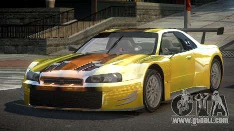 Nissan Skyline R34 US S6 for GTA 4