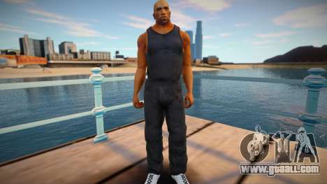 CJ 2015 skin: Parkour style for GTA San Andreas