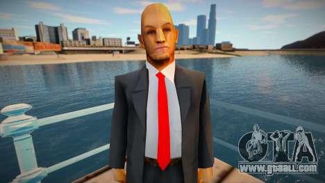 Hitman Model for GTA San Andreas