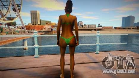 Beach Model Kendl Johnson for GTA San Andreas