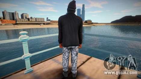 MASK NIGA HD for GTA San Andreas