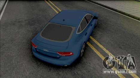 Audi A7 2010 for GTA San Andreas