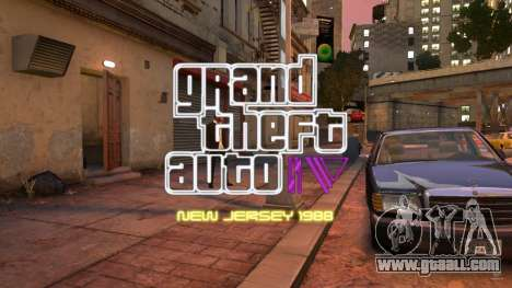 1988 New Jersey (Alderney) for GTA 4