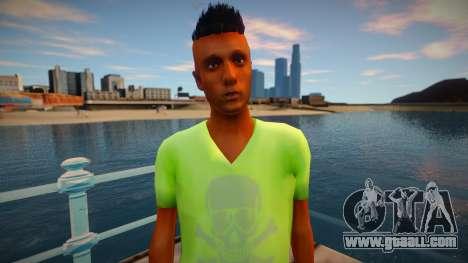 Hipster 1 from GTA V for GTA San Andreas