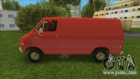 Dodge Tradesman Van 1976 for GTA Vice City