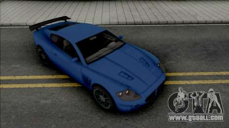 Ocelot F620 (SA Plate) for GTA San Andreas