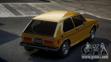 Volkswagen Rabbit GS for GTA 4