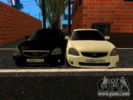 LADA 2170 SE Facelift 2015 for GTA San Andreas