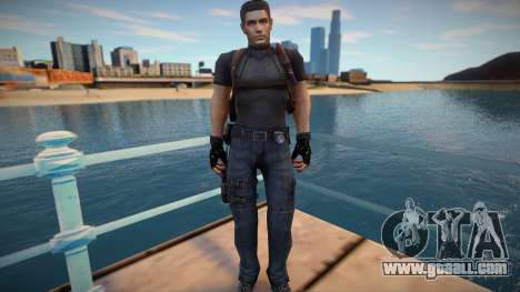 Chris Redfield Leon Re1 for GTA San Andreas
