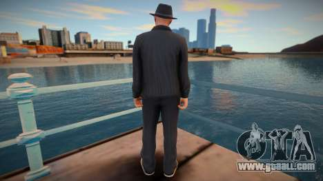 Walter White GTA Online style for GTA San Andreas