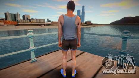 Trevor hipster style for GTA San Andreas