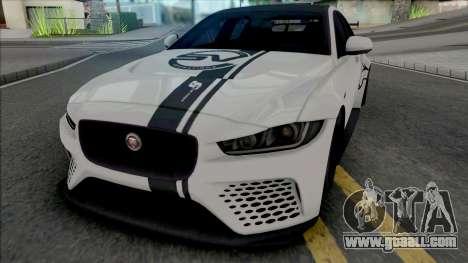 Jaguar XE SV Project 8 [Fixed] for GTA San Andreas